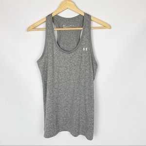 UNDER ARMOUR Grey Tank Racerback Small